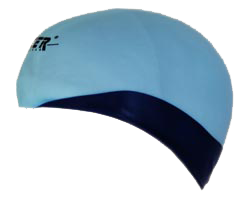 Reversible Silicone Swim Caps